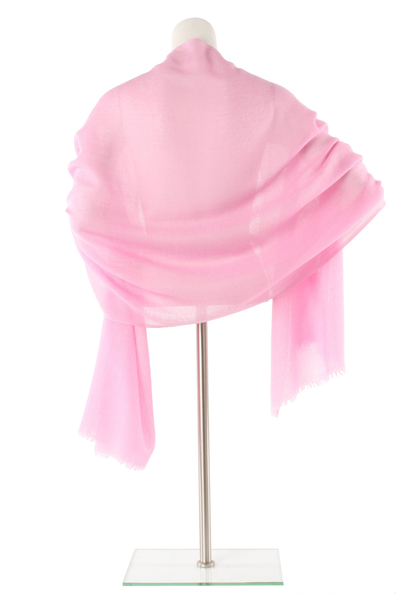Pretty Pink Luxe Cashmere Oversized Scarf
