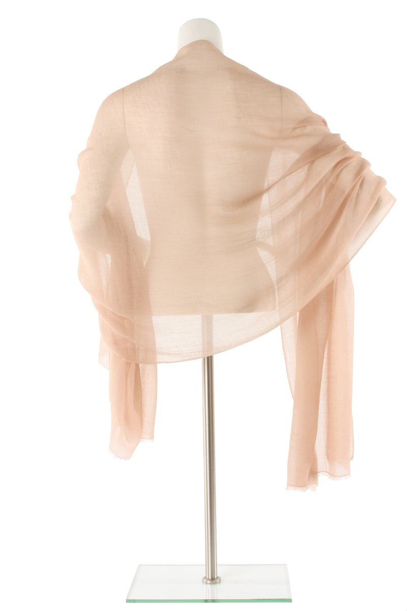 Buff Luxe Cashmere Oversized Scarf