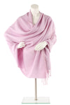 Orchid Cashmere and Silk Wrap