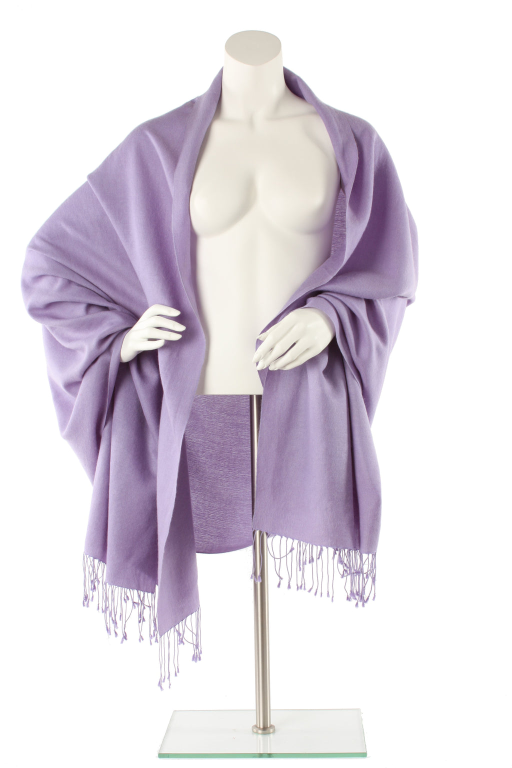 Jacaranda Cashmere and Silk Wrap