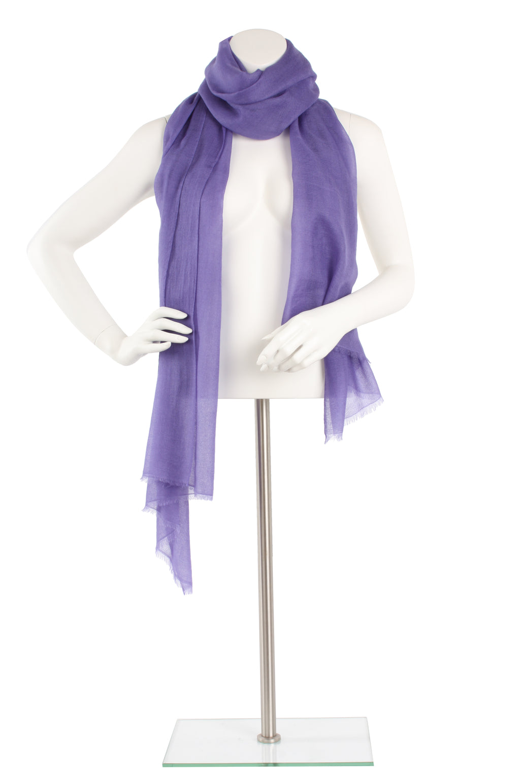 Lavender Luxe Cashmere Oversized Scarf