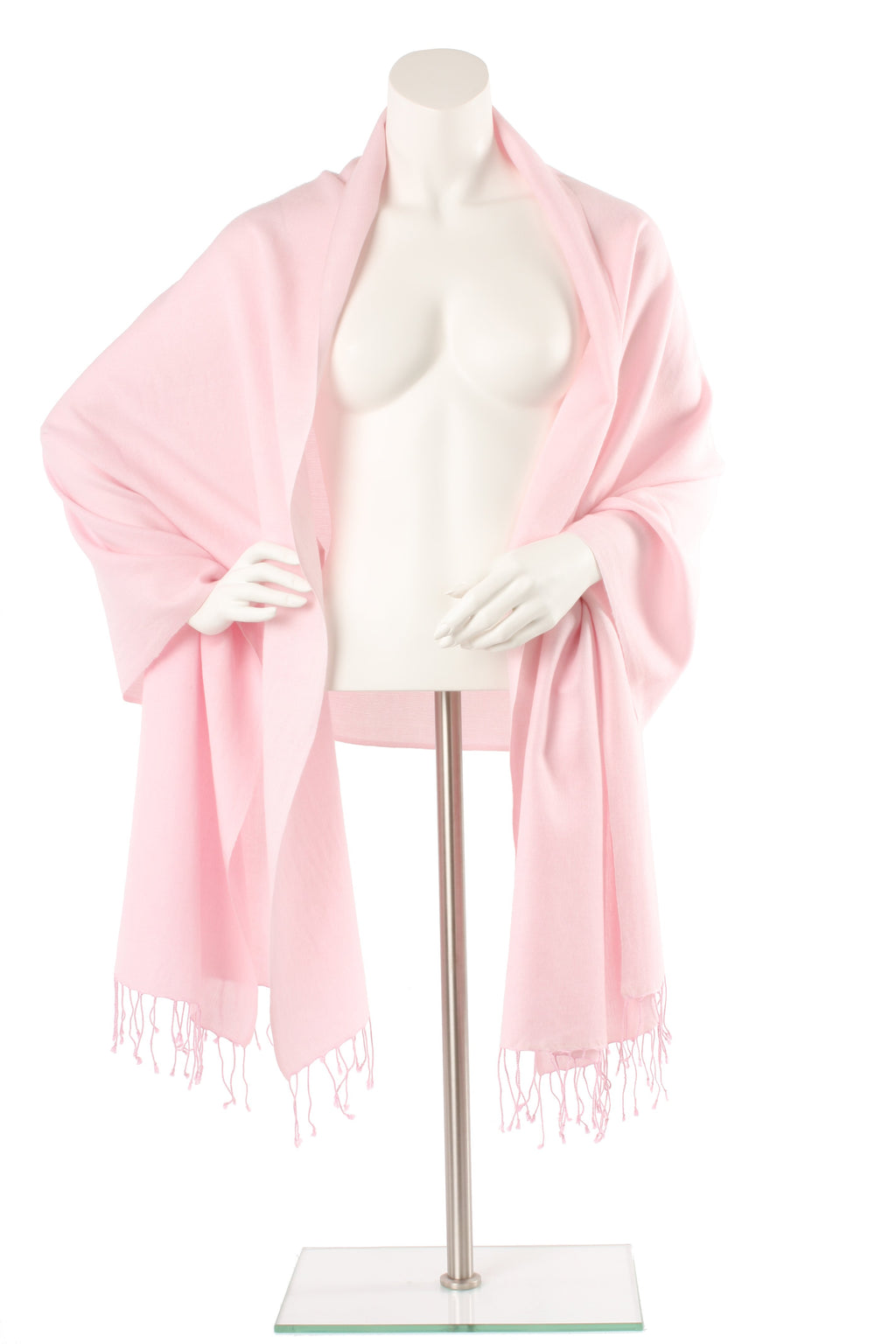 Ballet Slipper Cashmere and Silk Oversized Scarf