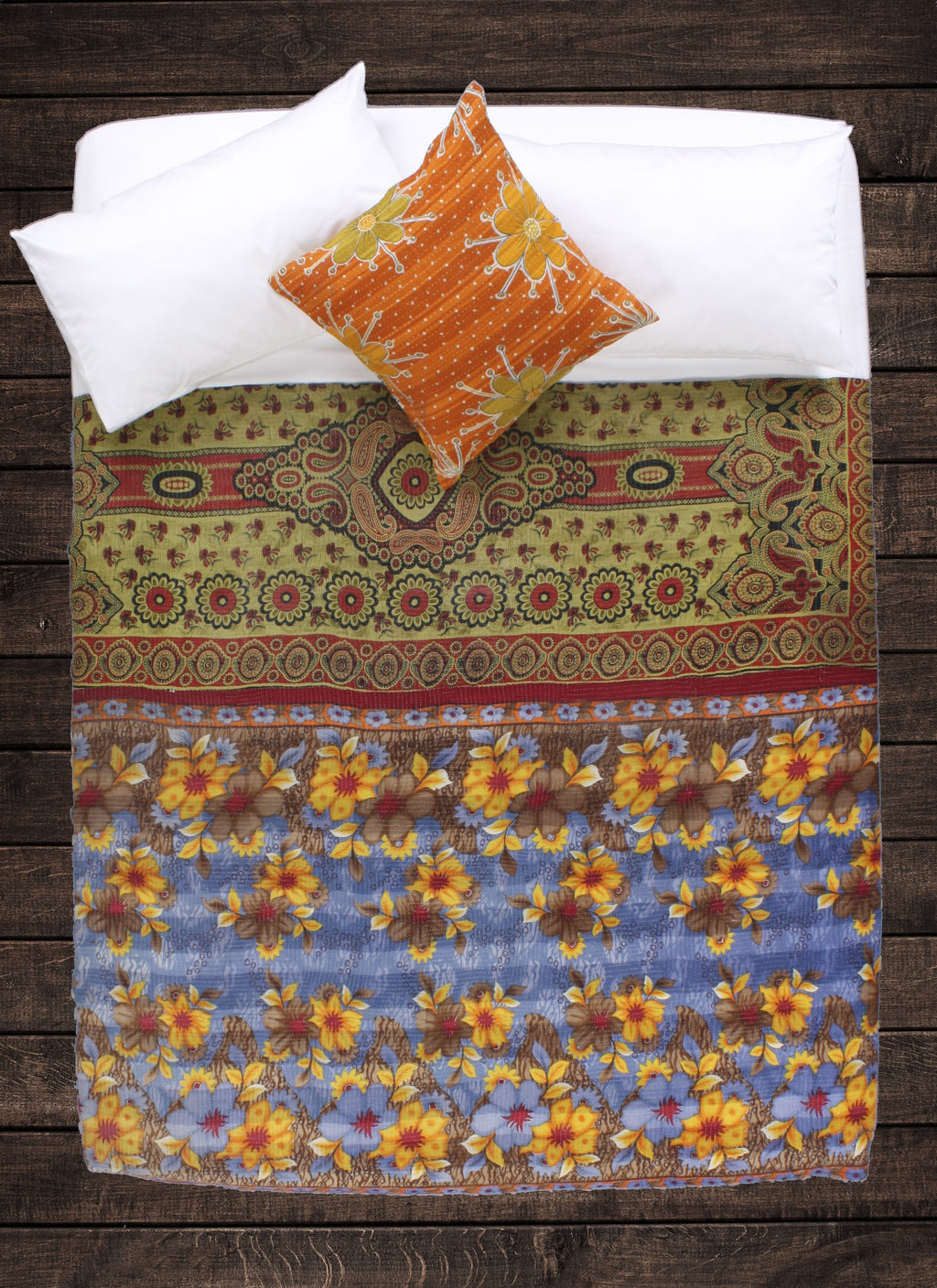 Eleanor Kantha Throw