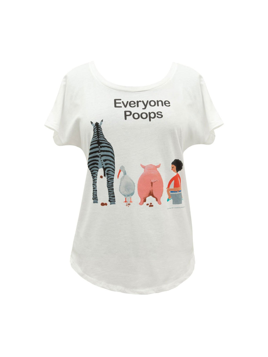 Everyone Poops Women's T-Shirt