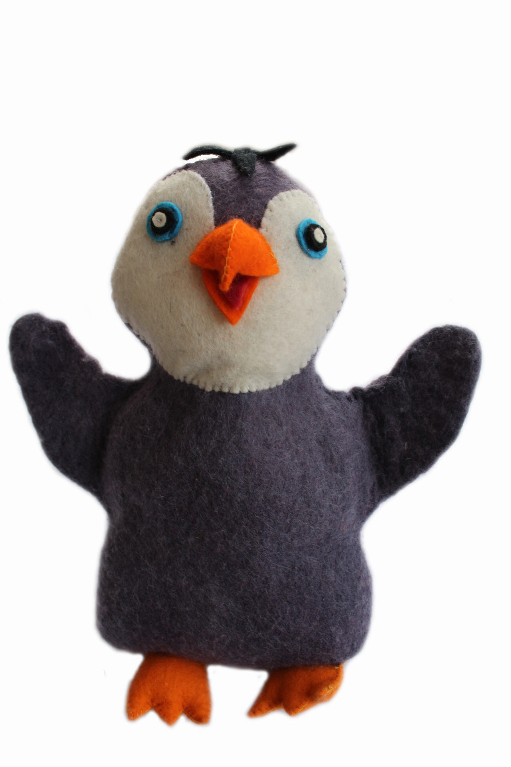 Penguin Felted Friend