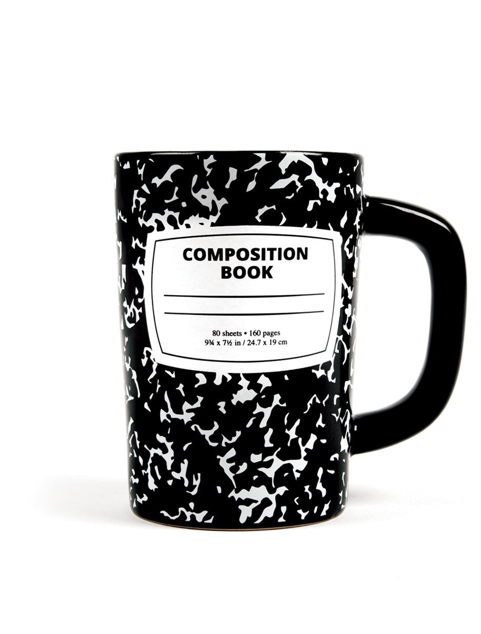 Composition Notebook Mug