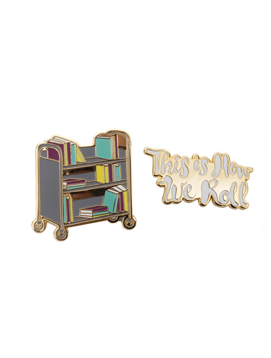 This Is How We Roll Enamel Pin Set