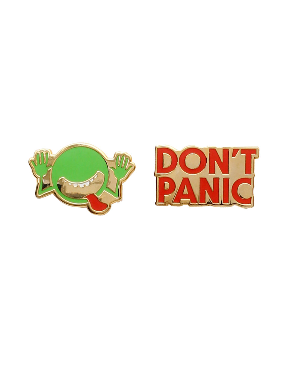Hitchhiker's Guide to the Galaxy Enamel Pin Set