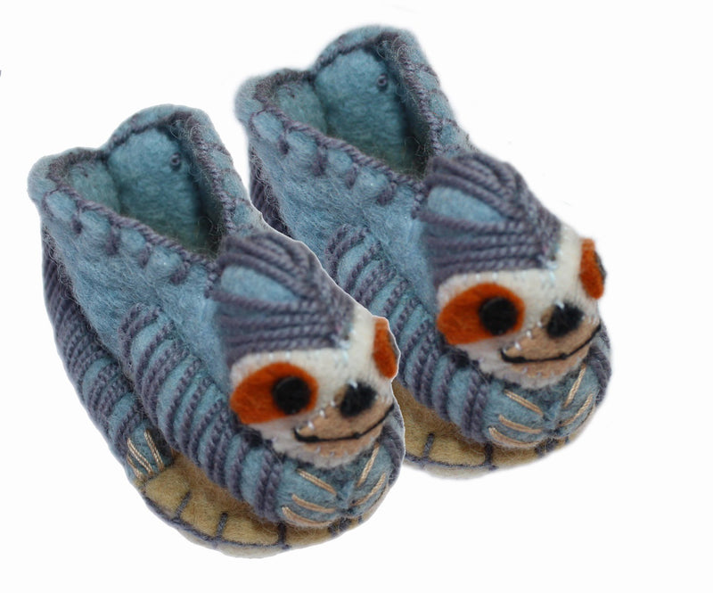 Sloth Baby Booties