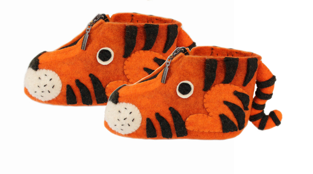 Tiger Children's Slippers