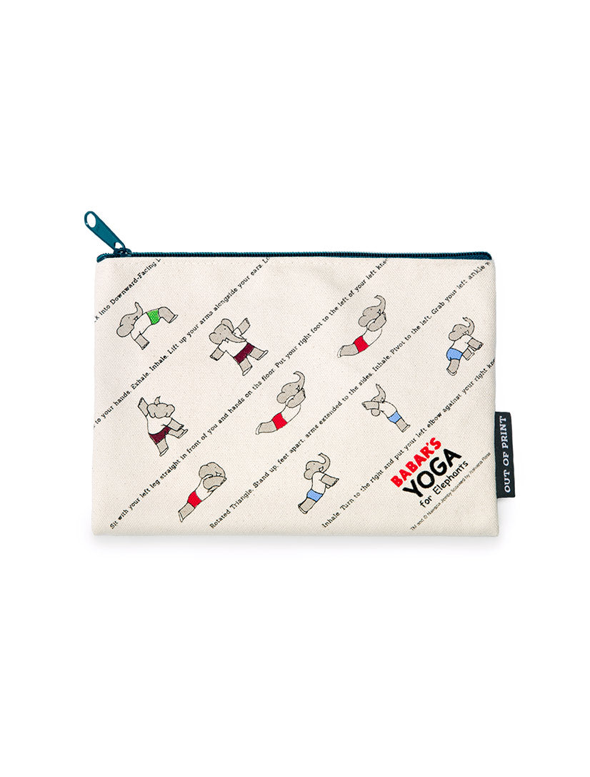 Babar's Yoga Zipped Pouch