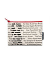 Banned Books Zipped Pouch
