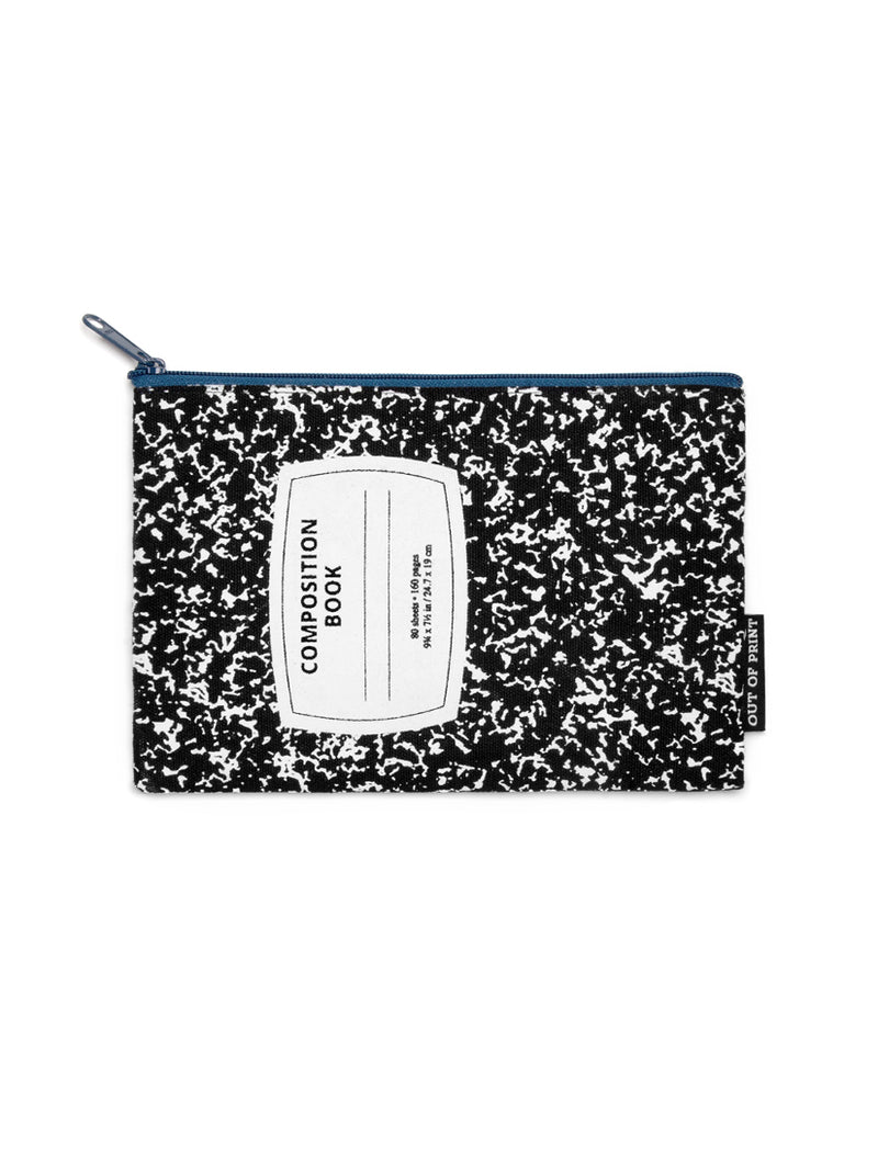 Composition Notebook Zipped Pouch