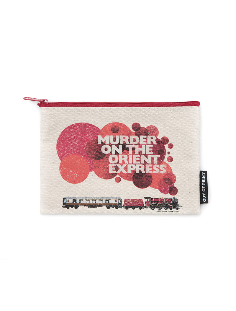 Murder on the Orient Express Zipped Pouch