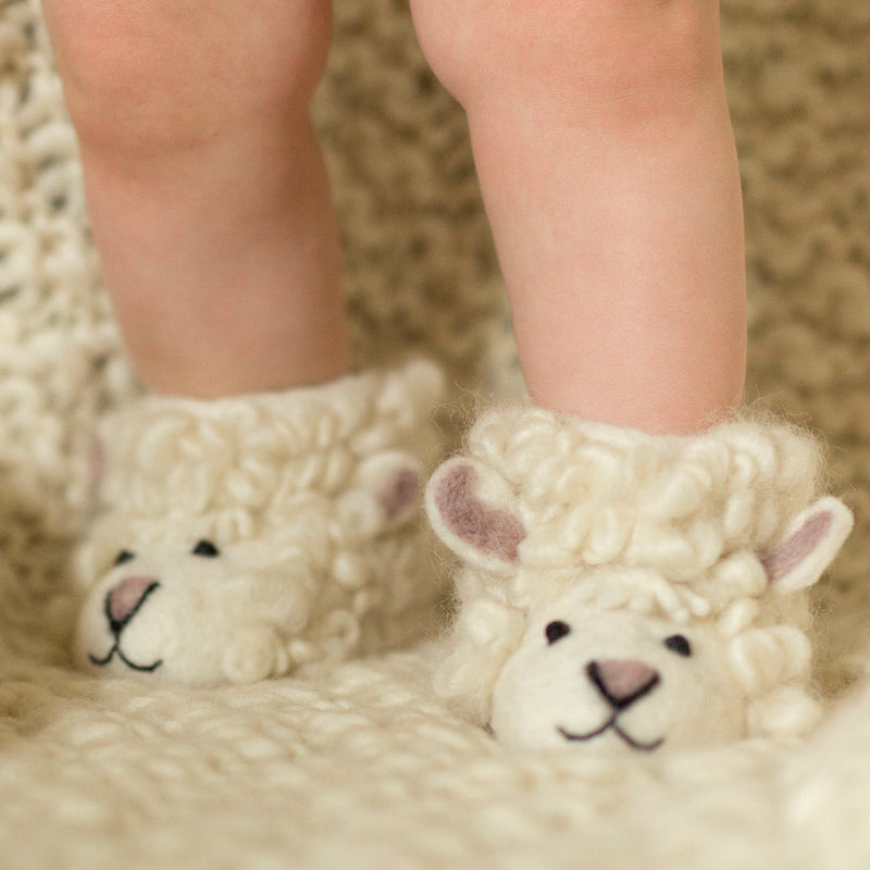 Children's Sheep Slippers