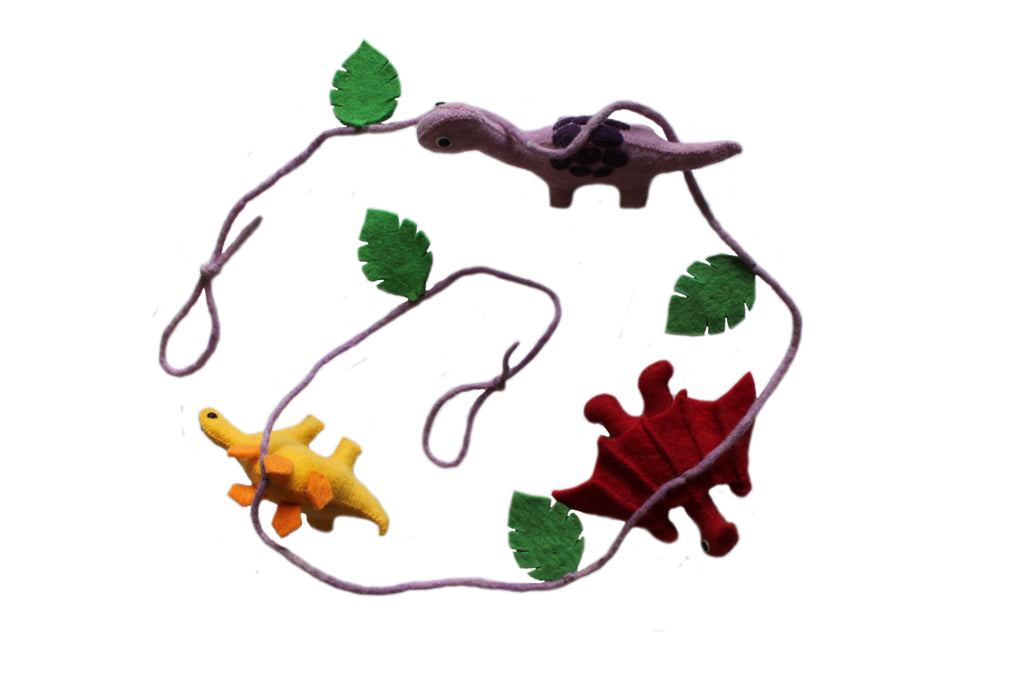 Dino Party Garland