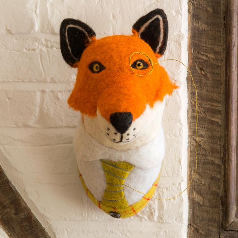 Mounted Fox Head