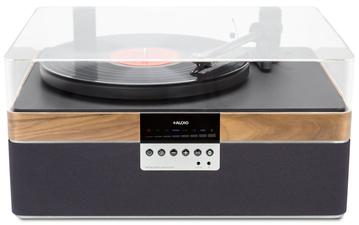 The Plus Record Player Walnut
