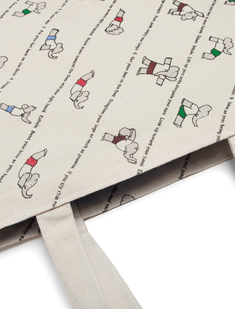 Babar's Yoga for Elephants Tote Bag