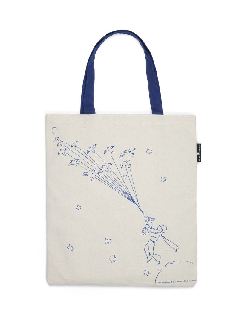 The Little Prince White Tote Bag