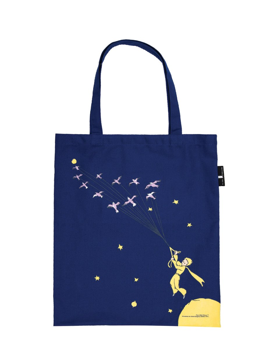 The Little Prince Blue Tote Bag