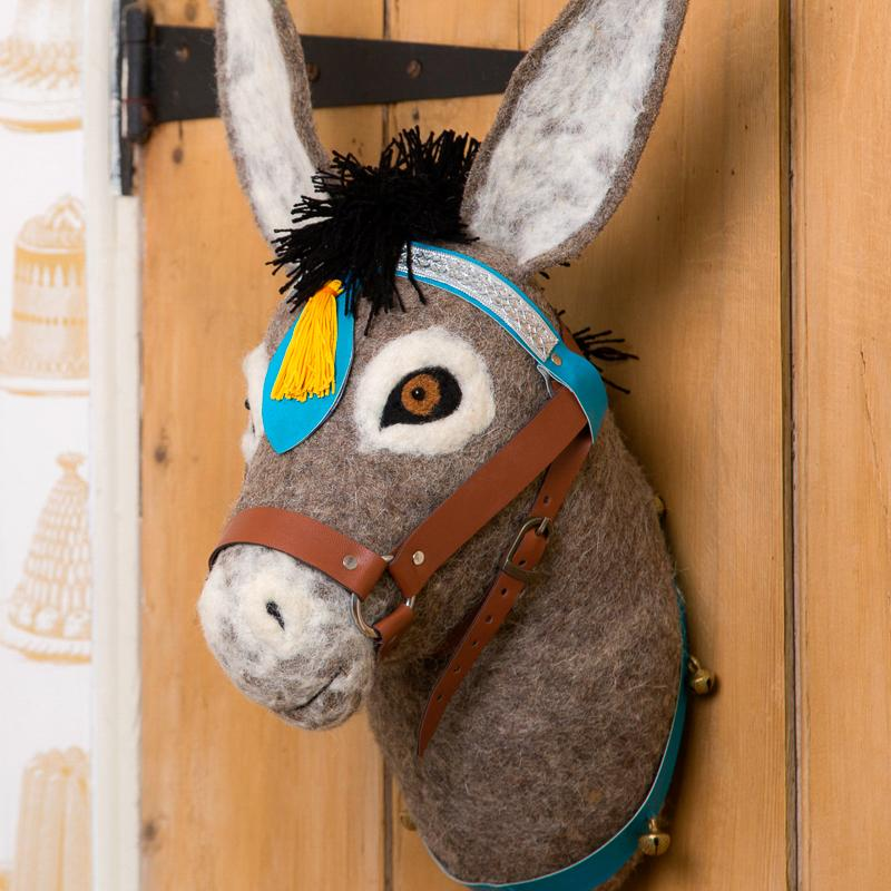 Mounted Donkey Head