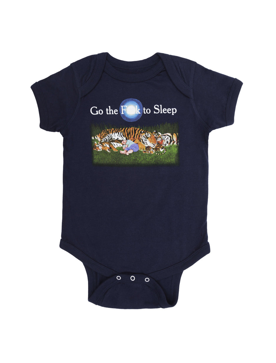 Go the F to Sleep Baby Bodysuit
