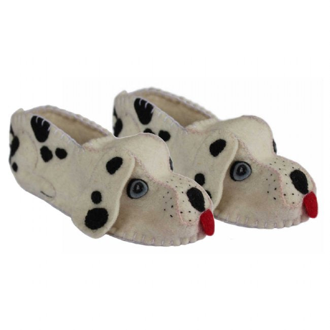 Adult's Dalmation Slippers