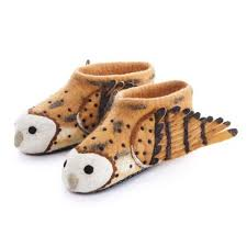 Adult's Owl Slippers
