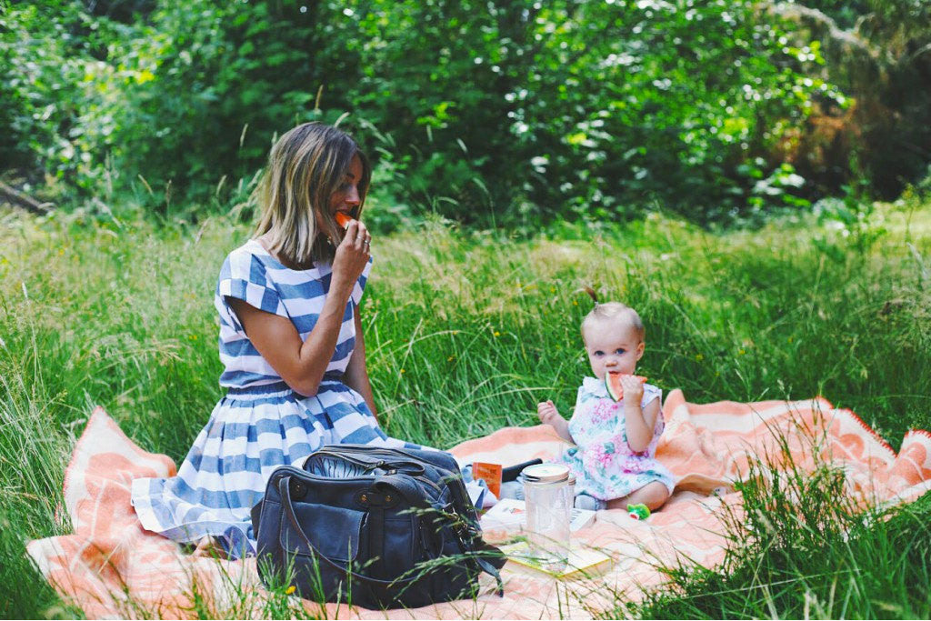 Bethany Menzel Picnics with Charlie