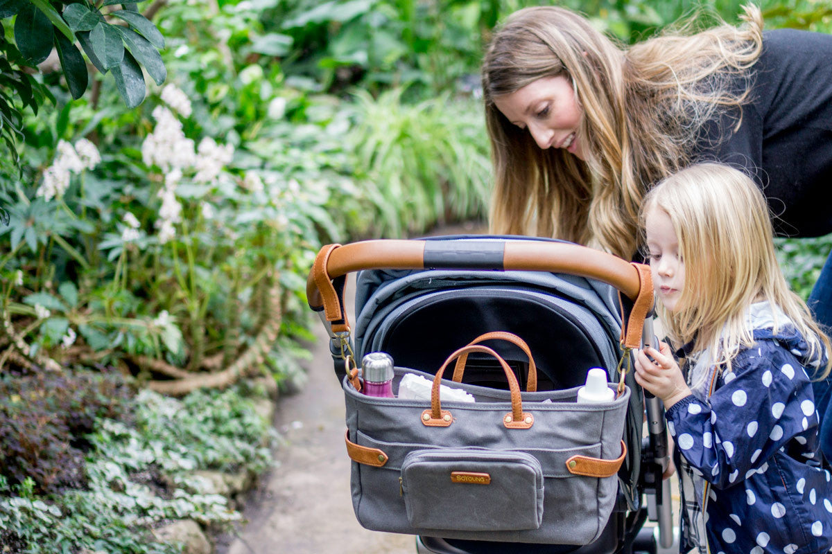 Introducing the Andi 3-in-1 Stroller Organizer