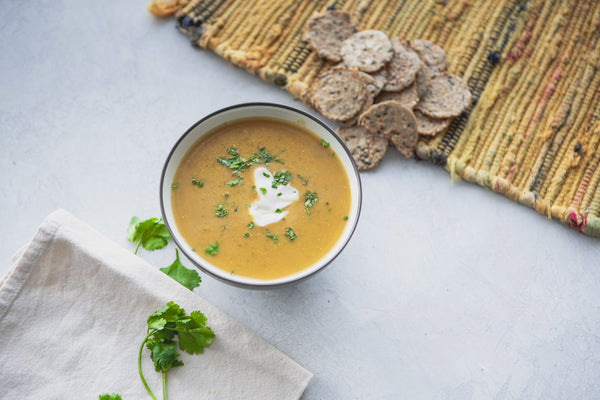 Easy Curry Lentil Soup Recipe