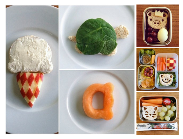 Blogger and food artist Selena Kohng's parenting blog presents tons of fantastic ideas to please picky eaters. One of our favorites is this recipe where she uses animal-shaped food cutters to create adorable sandwiches for her kids.