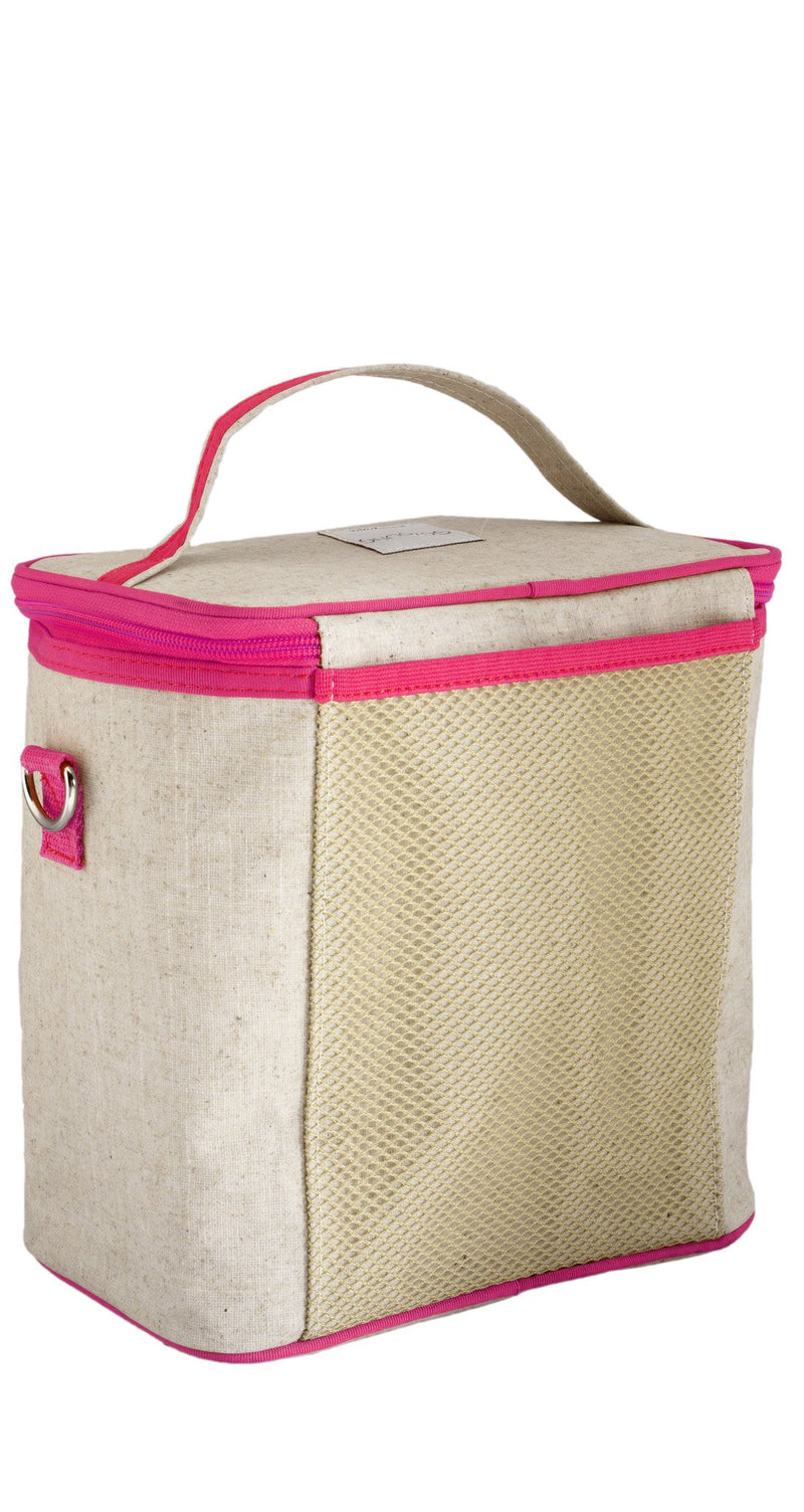 Pink Birds Small Cooler Bag