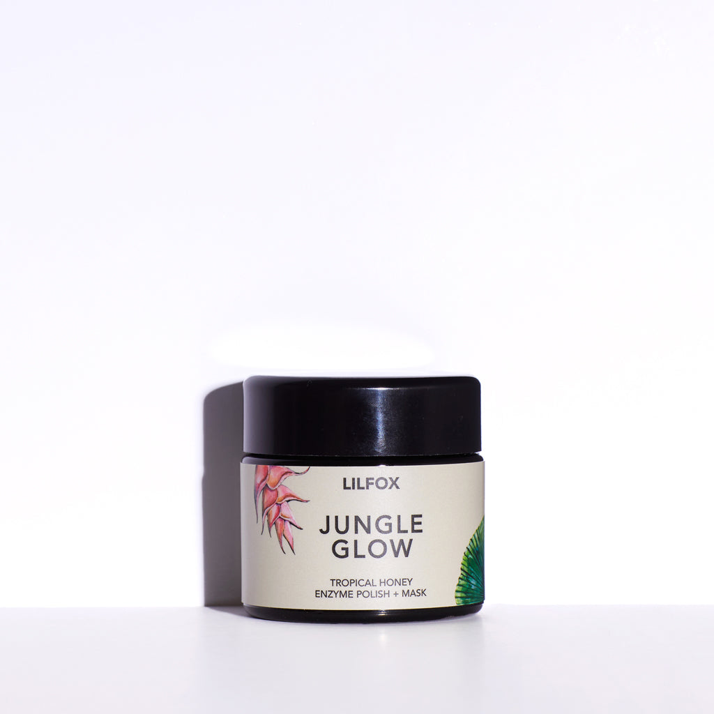JUNGLE GLOW Tropical Honey Enzyme Polish + Mask 100ml