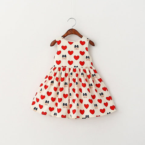 Teddy Bear Hearts Dress