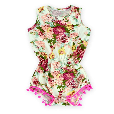 Antique Light Rose Romper