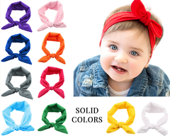 Solid color headbands