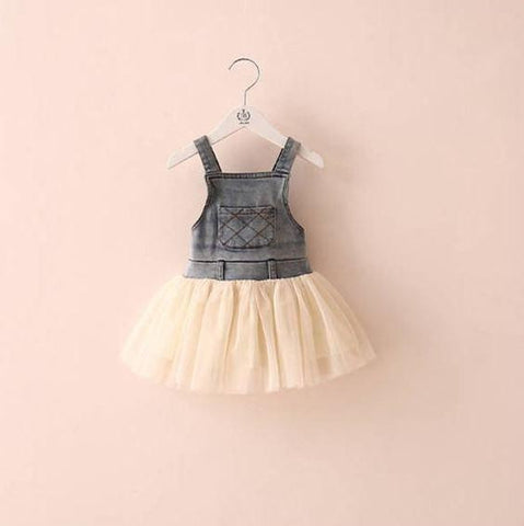 Country Girl Suspender Dress