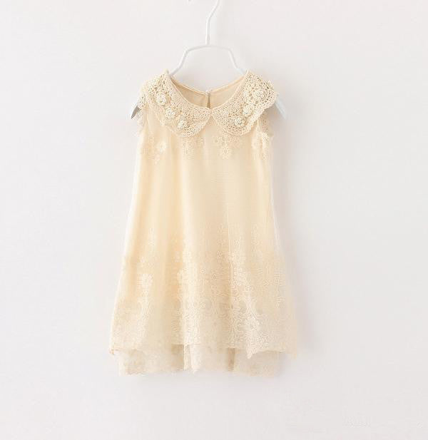 Antique Lace and Pearl Dress