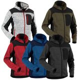 Blaklader Knitted Soft Shell Jacket in Comfortable and Smooth Material - 4930