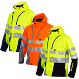 Projob Hi Vis Functional Softshell Work Jacket Class 3/2 - 646419