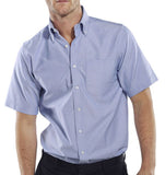 Click Oxford Short Sleeve Corporate Work Shirt - Oxsss