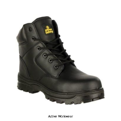 Amblers Safety FS006C Safety Boot - 20416-32259 - Black / 4 - Boots Amblers