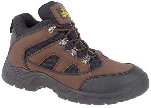 Amblers Vegan Safety Ankle Boot FS152 Steel Toe and Midsole SB-P-SRA Boots Active-Workwear