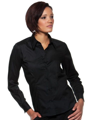 Bargear Ladies Long Sleeved Bar Shirt - KK738 - Catering & Hospitality Bargear