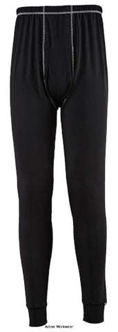 Base Pro Antibacterial Legging (long Johns) - B151 - Underwear & Thermals - PortWest