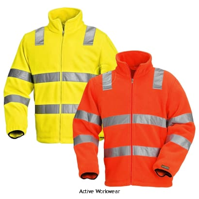 Blaklader Hi Vis Fleece Work Jacket - 4833 - Hi Vis Jackets - Blaklader
