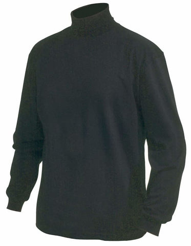 Blaklader Long Sleeved Polo / Turtle Kneck Work T Shirt - 3320 - Shirts Polos & T-Shirts Blaklader