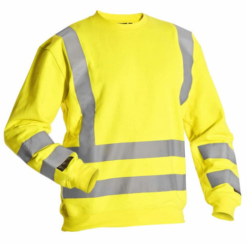 Blaklader Multinorm Anti Flame Hi Vis SweatShirt - 3087 - Fire Retardant Blaklader